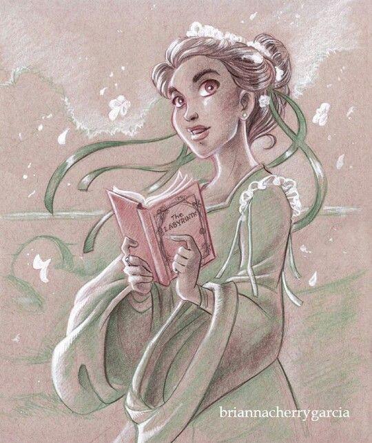Sarah (Labyrinth) by Brianna Garcia. Wow.