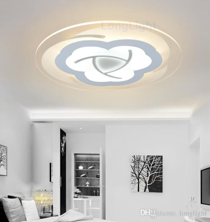 Modern LED Ceiling Lights 220V 110V Remote Control Three Colors Chandelier For Home Light Decorative Luxury Living Room Lamp Indoor Lighting