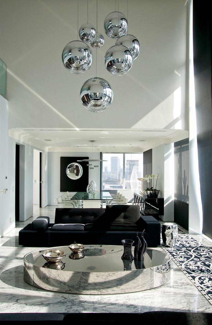 Rosamaria G Frangini | Architecture Interior Design | Black Details for a Modern Living
