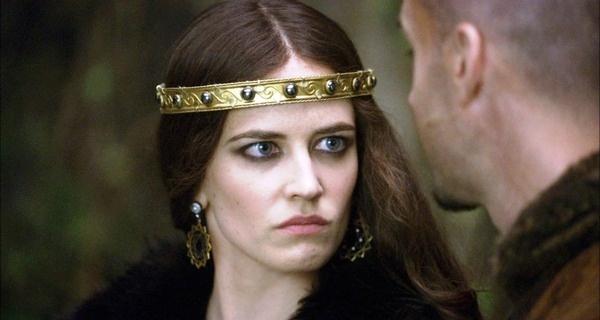 """Eva Green jako Morgana (""""Camelot"""") -czysta nienawiść w oczach"""