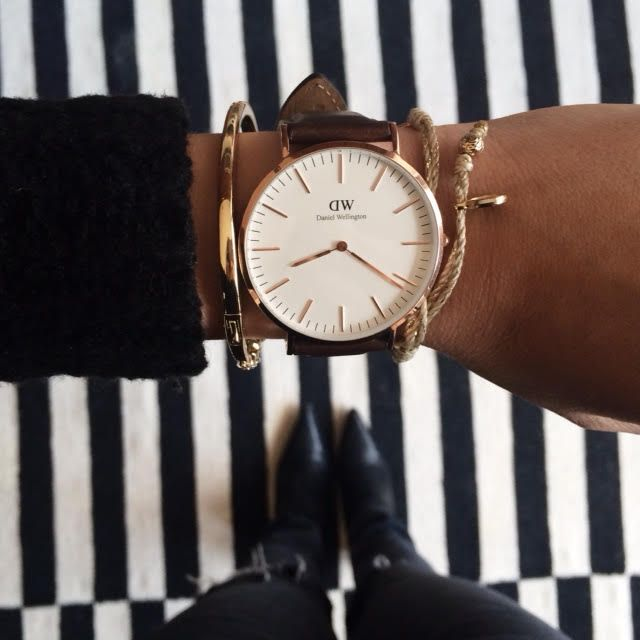 { Dallas Shaw instagram- Danial Wellington watches }
