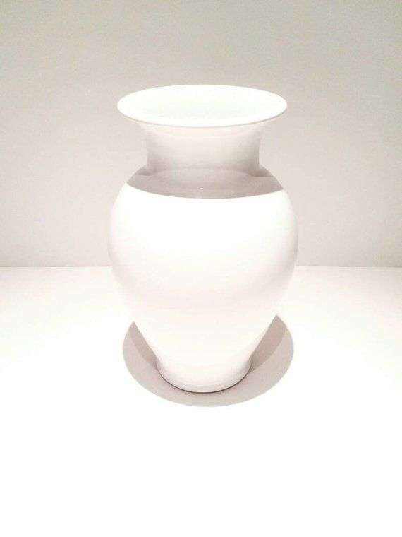 White ceramic vase tall white ceramic vase white ceramic vases wholesale large white ceramic vase ceramic white vase modern flower vase #white ...  sc 1 st  Pinterest & White ceramic vase Tall White Vase Wedding decor   etsy   Tall ...