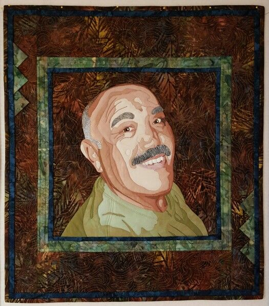 17 best My Portrait Quilts images on Pinterest | Idioms, Bird ... : portrait quilts - Adamdwight.com
