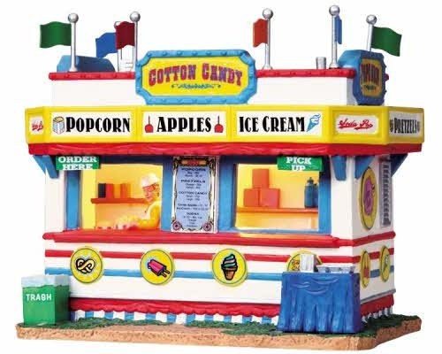Lemax Carnival Snack Shack...can't wait for this to come out ...