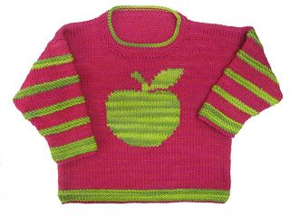 Apple Pullover pattern by Gail Pfeifle, Roo Designs