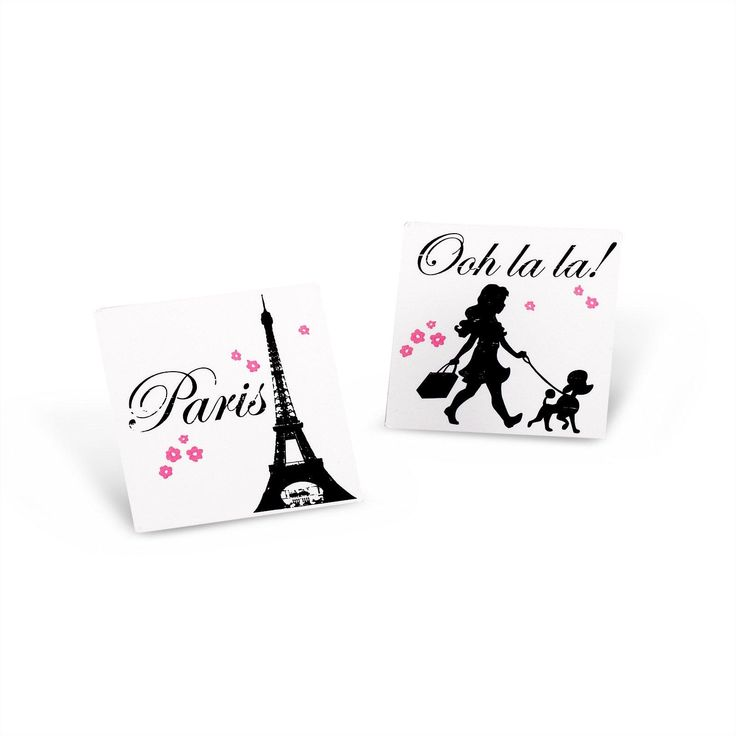 Paris Damask Tattoos (8) from BirthdayExpress.com