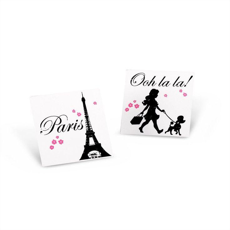 Paris Damask Tattoos (8) from BirthdayExpress.com