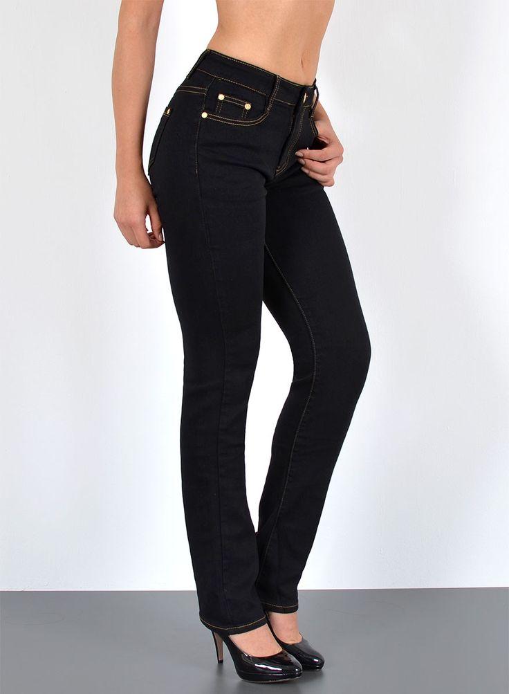 Bequeme Damen Jeans Hosen bis Größe 56 auf Lager in mehreren Farben!