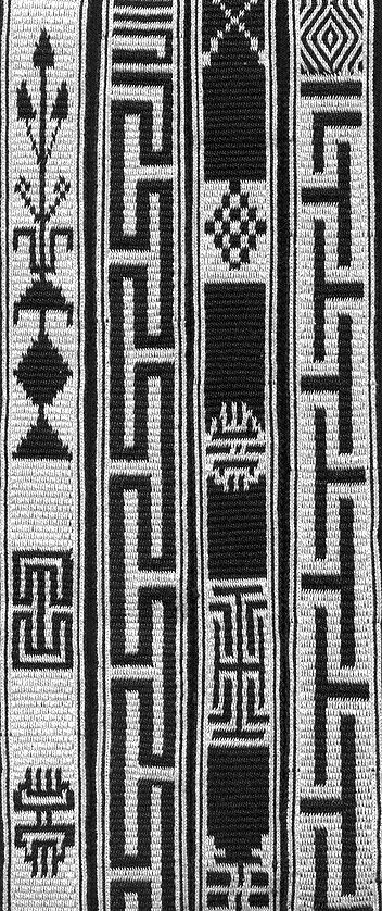 [belt with traditional Tibetan designs by Tsering Yangzom]