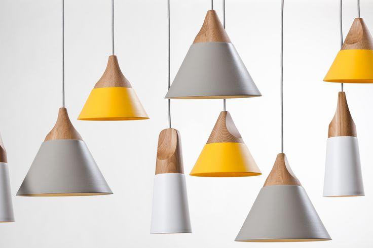 Slope, suspension light design Skrivo.