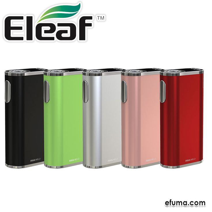 Eleaf 4400mAh iStick Melo Battery is the new MOD with 4400mAh built-in battery. With 60W max power, high performance VW/TC modes and 2A QC charging, it is absolutely a good choice for vapers.  Available in 4 colors:  Greenery, Rose Gold, Red, Silver