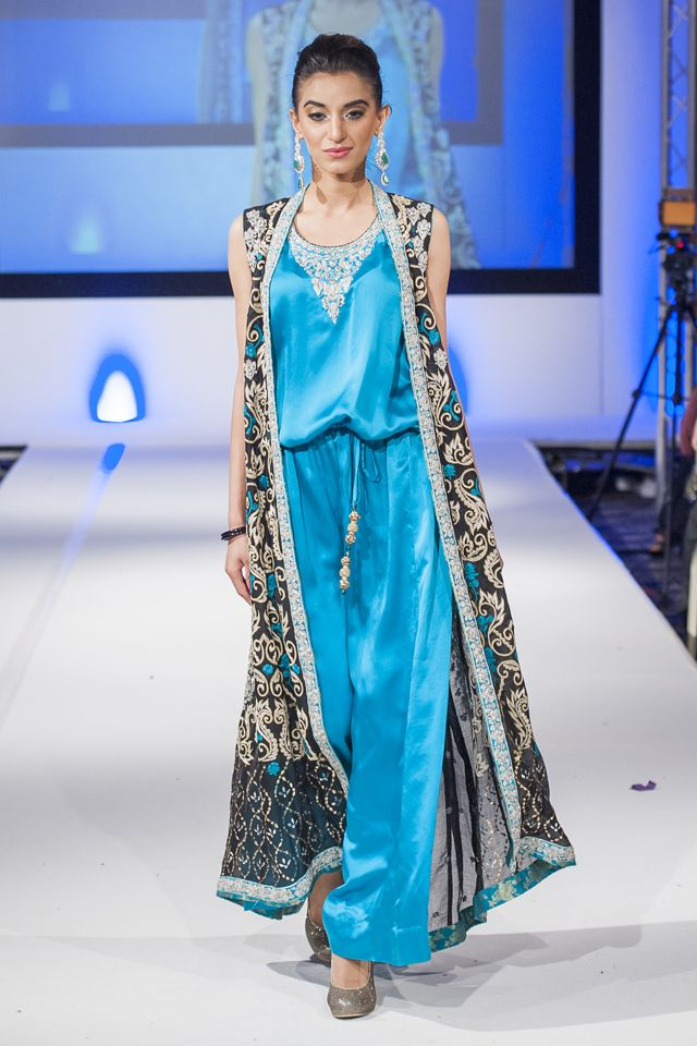 Sana Abbas at Pakistan Fashion Extravaganza London 2014