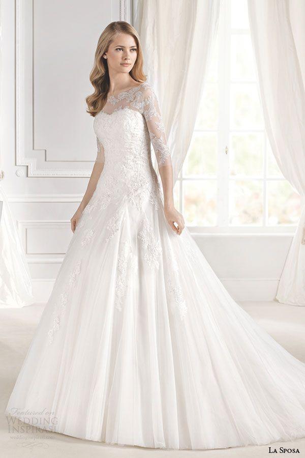 La Sposa 2015 Wedding Dresses — Glamour Bridal Collection | Wedding Inspirasi