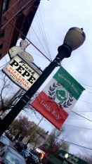 New Haven CT. wooster Street Frank Pepe Pizza