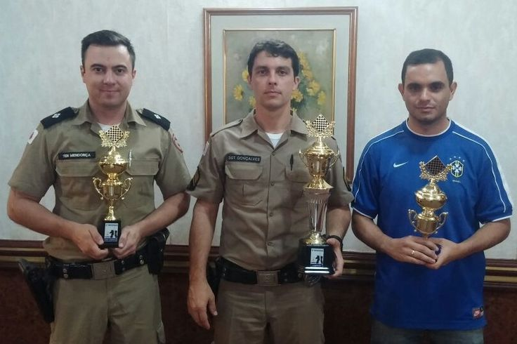 Sargento Gonçalves é campeão do 3º Torneio de Xadrez da Policia Militar de MG|Futebol Araxá agora é Esporte Araxá