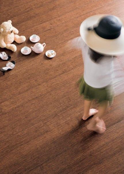 Teragren Portfolio Strand Bamboo Floating Floor In High Tea