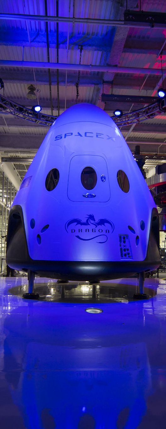 Aerospace | by Mel - SpaceX - Dragon