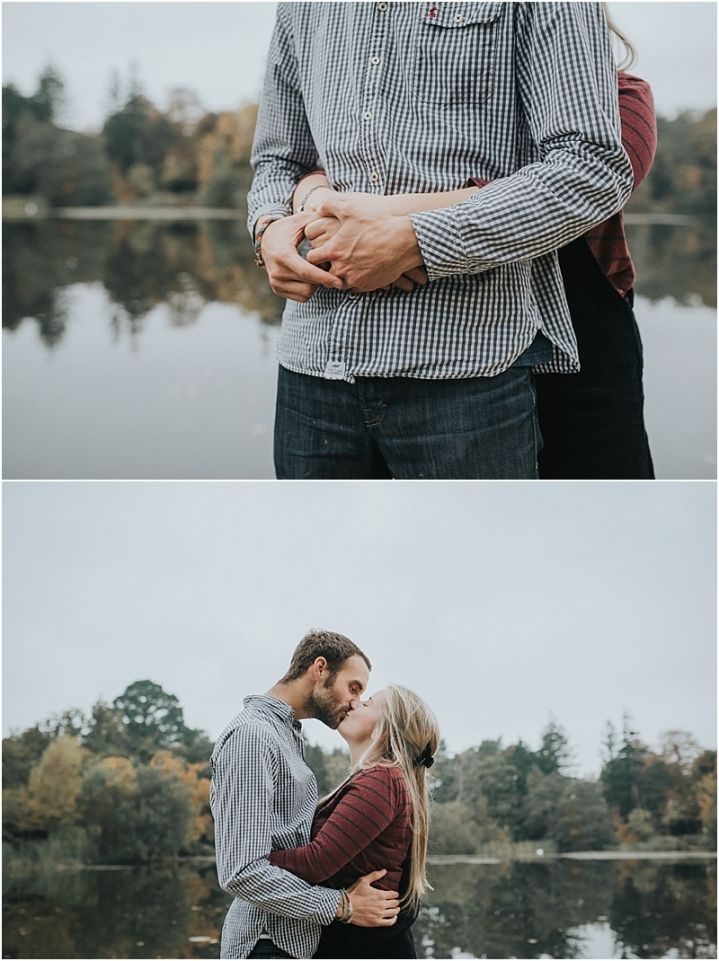 Autumn New Forest engagement shoot