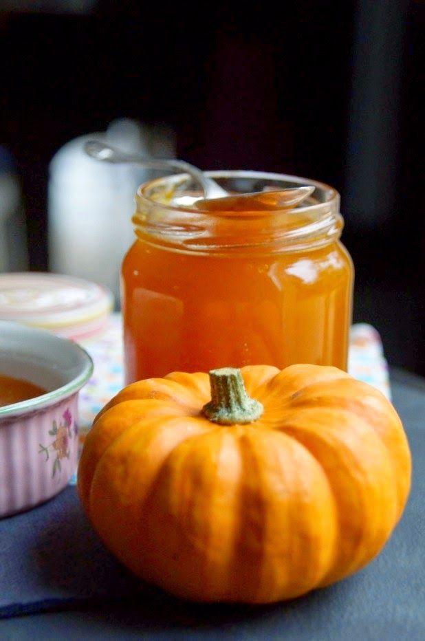 Confiture de courge Photo by Spicy    2 kg de courge citrouille musquée par exemple  Vanille en gousse ou cannelle en bâton ou zeste d'or...