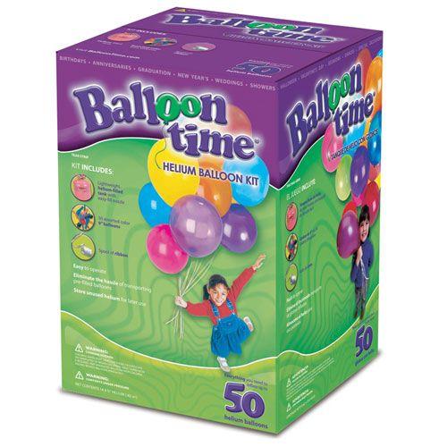 Bouteille Hélium Jetable (50 ballons)