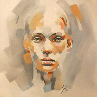 "Saatchi Online Artist Solly Smook; Painting, ""untitled F - SOLD"" #art"