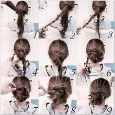 Neue natürliche Haarknoten Stile Pinterest