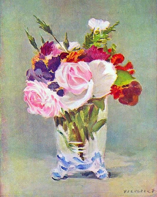 EDOURD MANET - French painter. He was one of the first 19th-century artists to paint modern life, and a pivotal figure in the transition from Realism to Impressionism.