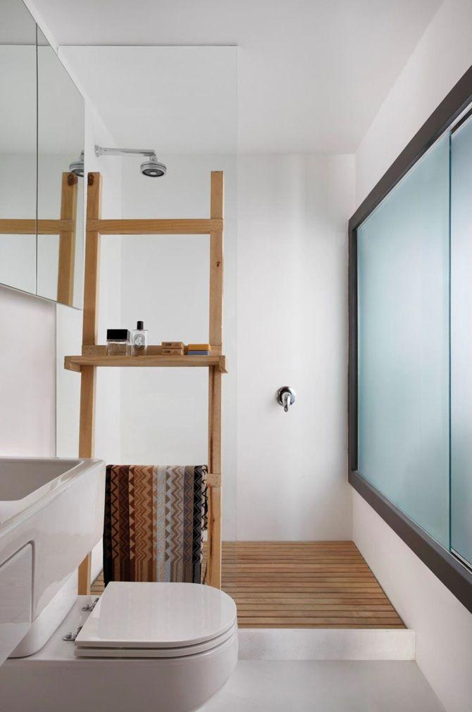 Indretning Af Badeværelse Med Glasvæg I Bruseniche Gør Det Selv