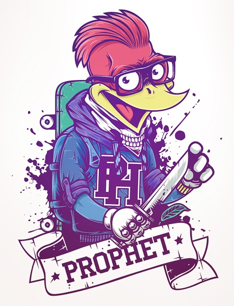 Illustration By Valery by H Project , via Behance