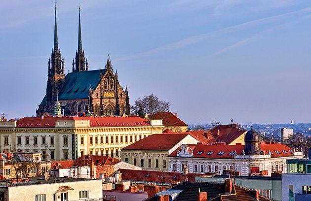 Panorama of Brno