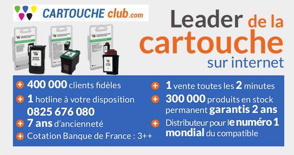 Cartouche Club : Cartouche d'encre pas cher et toner pour imprimante