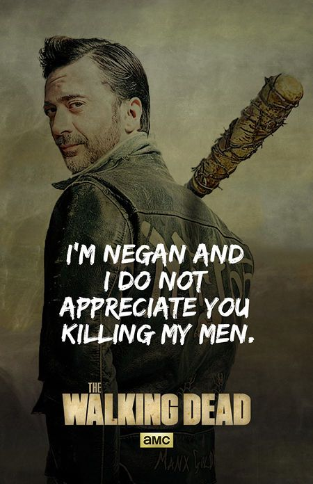 This Brilliant Fan Art Proves That Jeffrey Dean Morganis The Perfect Negan For Walking Dead