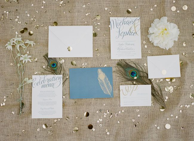 Sparkly Vintage Engagement Party