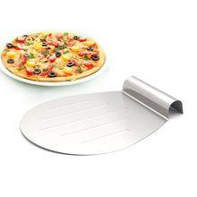 € 8,76 / 26 cm - Rvs cake bakken gereedschap pizza stenen schop transfer cake lade bewegende plaat cake lifter diy bakken & gebak tool(China (Mainland))