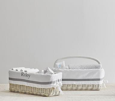 Gray Harper Nursery Storage #pbkids