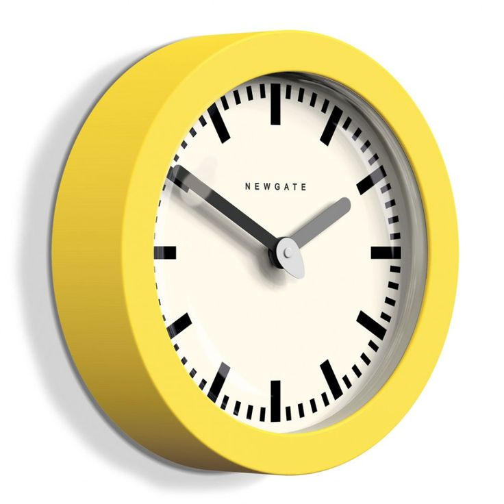 Newgate Andromeda citrus yellow wall clock - Home Accessories - Home & Kitchen - Gifts & Home