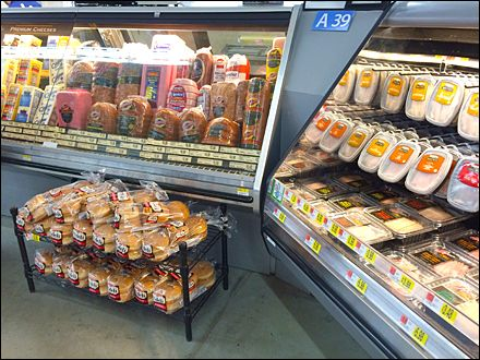 Marvelous Low Profile Bakery Rack Cross Sell At The Deli