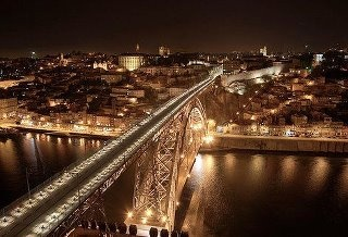 Porto, the capital of the country's northern regions, offers the delights of a riverside city as it is magnificently situated on the mouth of the Douro river, from where boats leave to sail up the beautiful river.