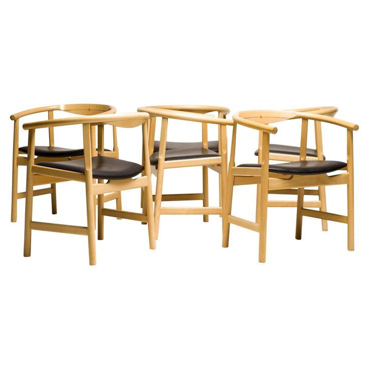 Set Of Six Hans Wegner Pp 203 Dining Chairs  Hans Wegner Dining Impressive Sale Dining Room Chairs Design Inspiration