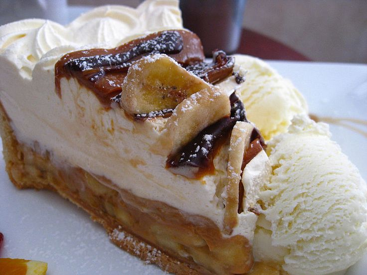 Banoffee pie is a very popular dessert on the backpacker trail in India, thought possibly to have arrived as early as 1978 or 1979 with the influx of young westerners to the region, who shared their favourite comfort food recipes with the local restaurateurs who catered to them.[6] The banoffee pie is a fixture in most budget and tourist towns from McLeod Ganj in the northern Indian state of Himachel Pradesh to the resorts of Goa.