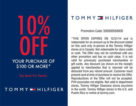 10% off your purchase of $100 or more before taxes. Offer valid only at Windsor Crossing from February 1, 2014 to April 30, 2014.