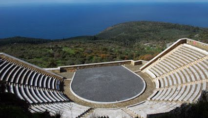 Theatre in Mani PLATSA - Messinia, Greece (Θεατρο στην Μανη, Πλατσα - Μεσσηνια)