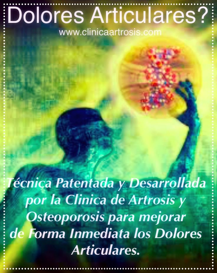 .:: Clínica de Artrosis y Osteoporosis - TRATAMIENTOS CON O SIN CIRUGIA ::.