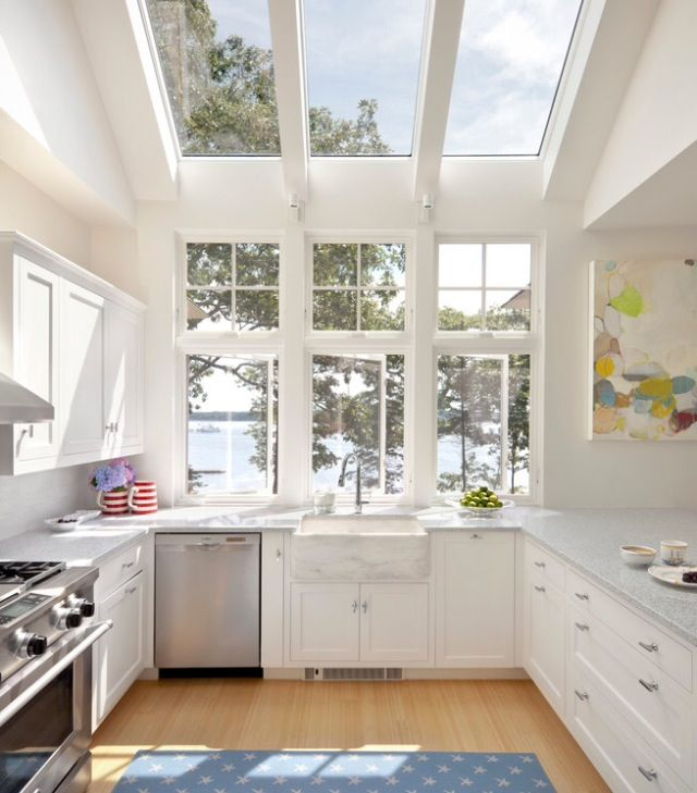 Natural light Kitchen   for our house   Pinterest