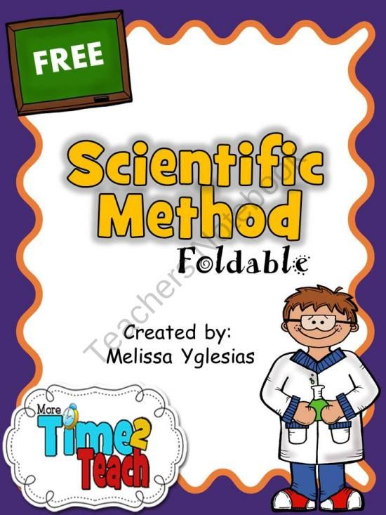 {FREE} Scientific Method Foldable with reading passage. Great activity for the…