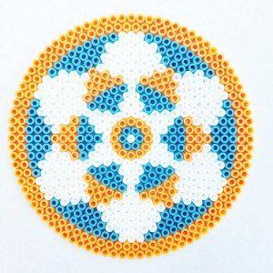 Hama Bead Mandala Design.