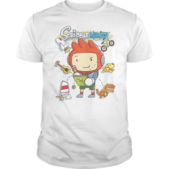 Scribblenauts Scribble Things T-Shirt Hoodie Sweatshirts iie. Check price ==► http://graphictshirts.xyz/?p=61306