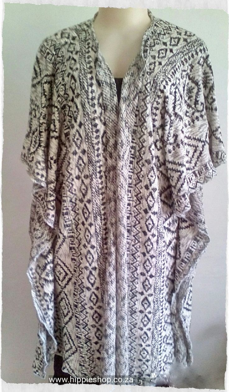 Poncho for Men and Women, Aztec design, woven cotton fabric, warm, cozy, fashionable by HippieshopAfrica on Etsy