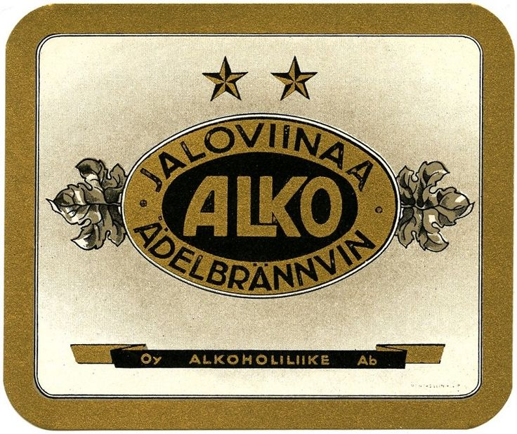 Oy Alkoholiliike Ab #alko #jaloviina