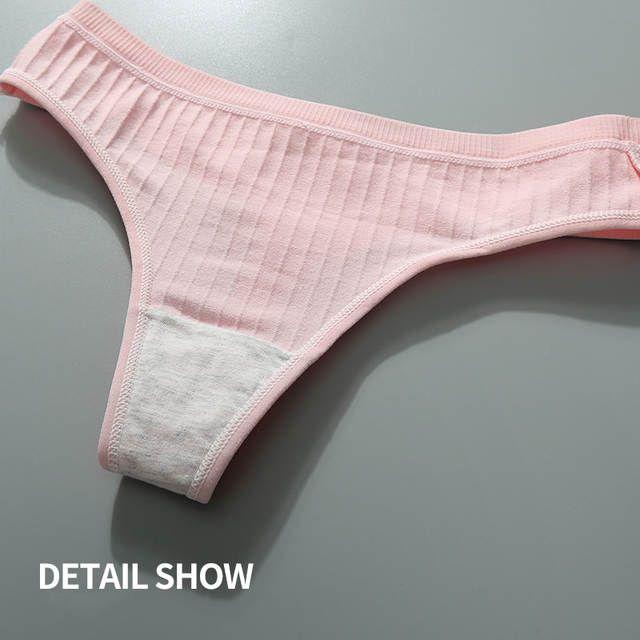 5dc910ac70d9 Tienda Online DULASI lencería Sexy de algodón de las mujeres Tanga bragas  cadena ropa interior Mujer ropa interior calzoncillos Pantalones de las  señoras ...